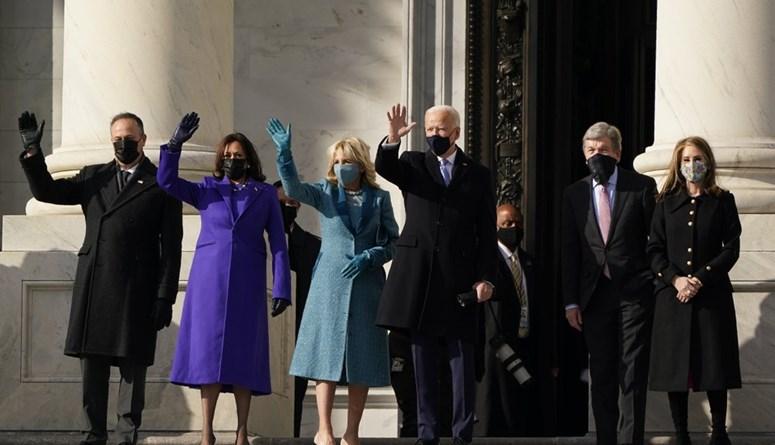 التنصيب بالصور... لحظة وصول بايدن وهاريس إلى الكونغرس