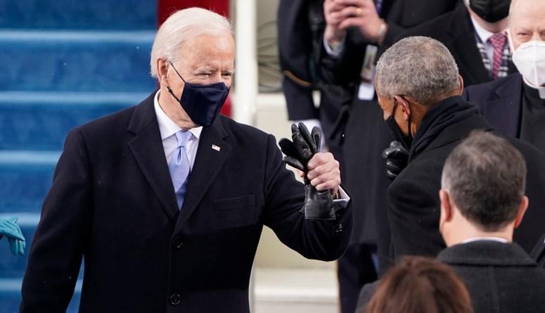 بايدن يؤدي القسم كرئيس للولايات المتحدة الأميركية