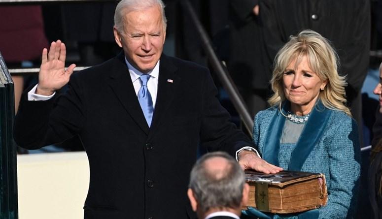 الرئيس الأميركي الـ46... بايدن يؤدي القسم الدستورية في حفل تنصيبه