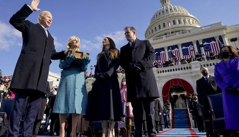 """بايدن ينتقل الى البيت الأبيض بهدوء: واشنطن """"مدخل قاعدة عسكريّة في فترة حرب"""""""