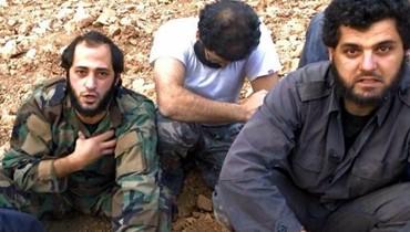 """""""الأناضول"""" تنشر صوراً للعسكريين المخطوفين لدى """"النصرة"""""""