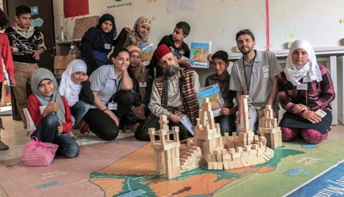 'Syria on my mind' offers hope to refugee children