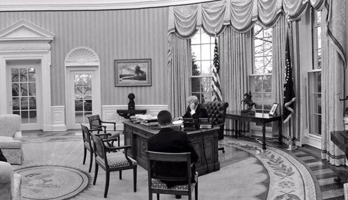 """هل رفع دونالد ترامب السبابة خلال مكالمته الهاتفية """"المحمومة"""" مع رئيس الوزراء الأوسترالي؟"""