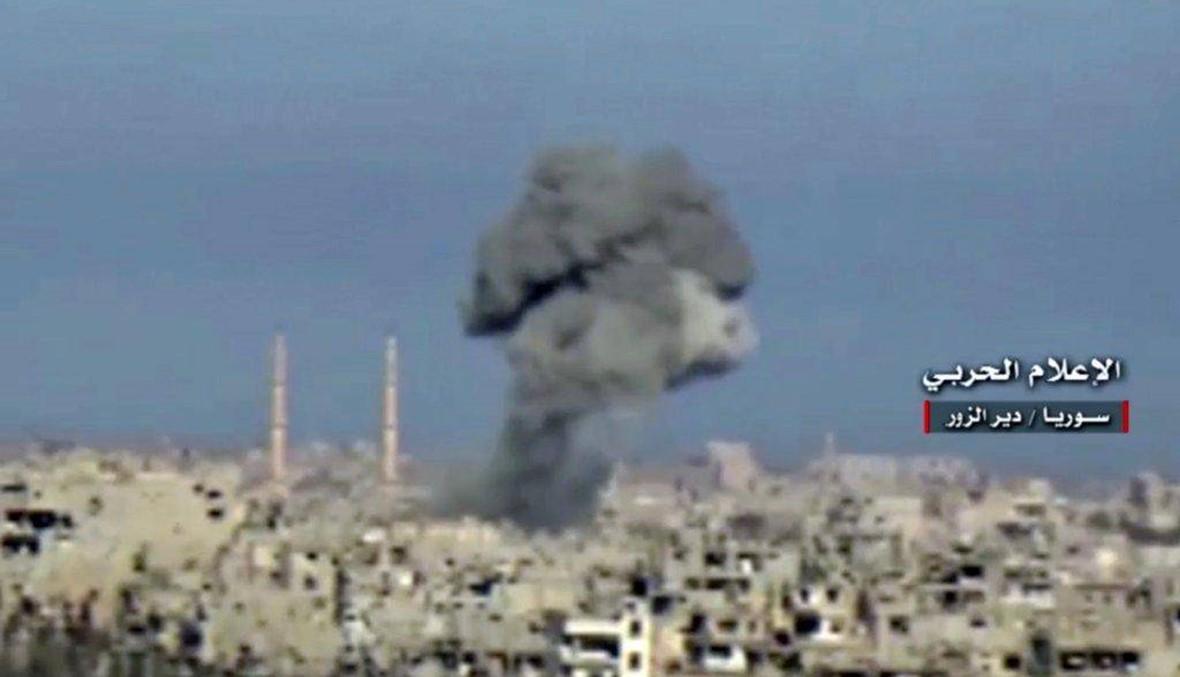 """الجيش الاميركي: مقتل 11 مدنيا في 4 غارات على """"داعش"""" في العراق وسوريا"""