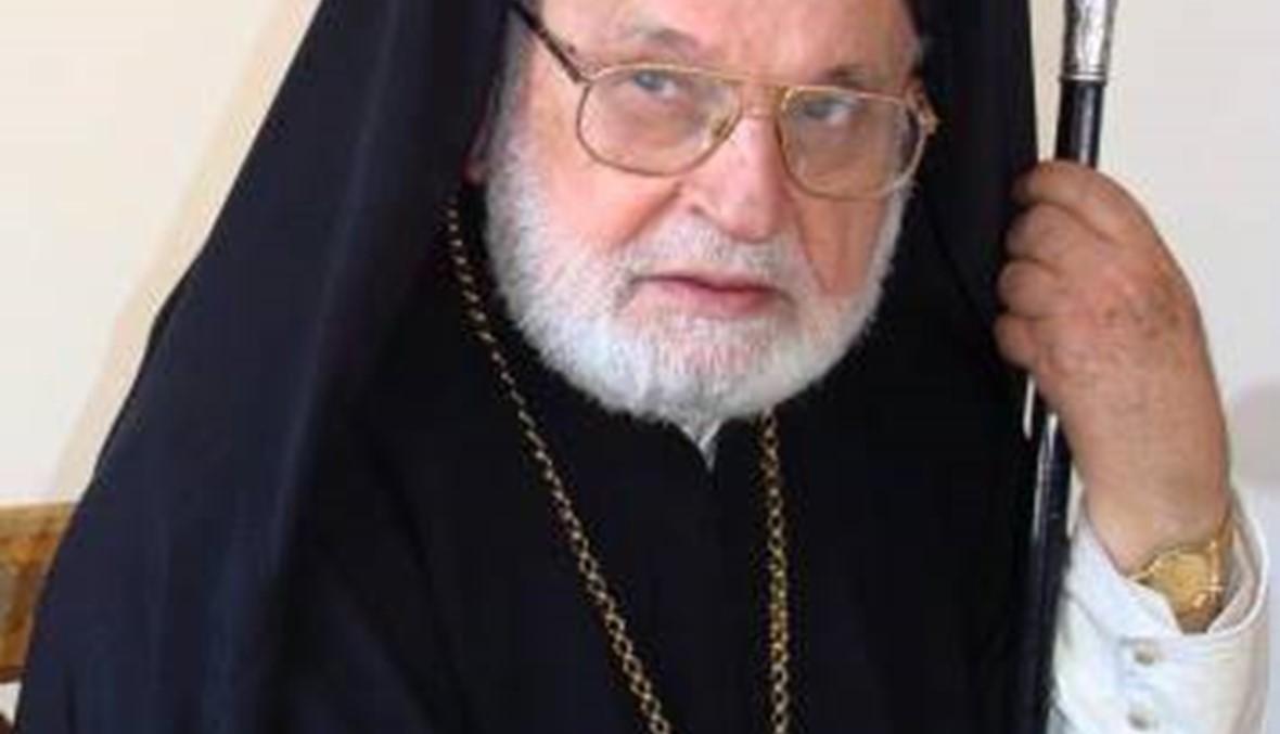 وفاة متروبوليت حماه وتوابعها للروم الأرثوذكس