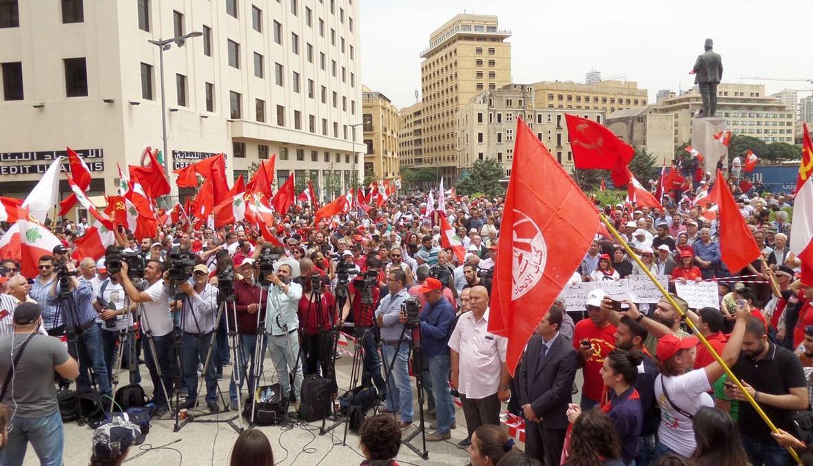القانون كعائق للعمل النقابي في لبنان