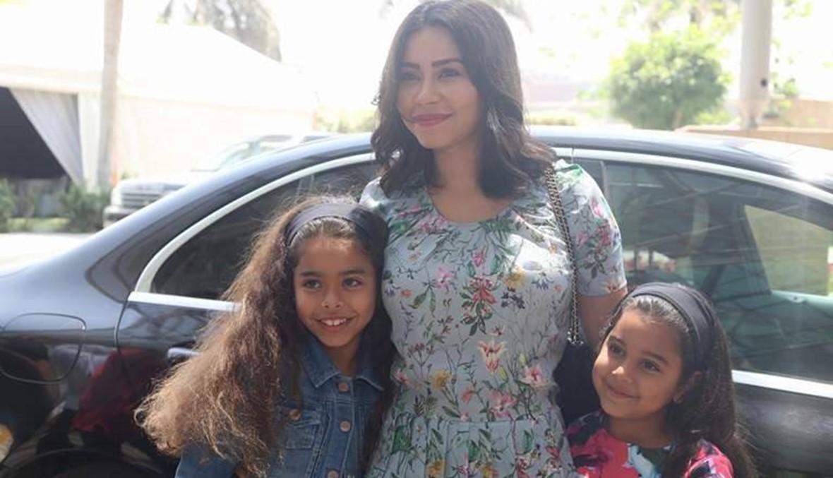 بالصور- شيرين تحقق وابنتاها أمنية طفل مصاب بالسرطان