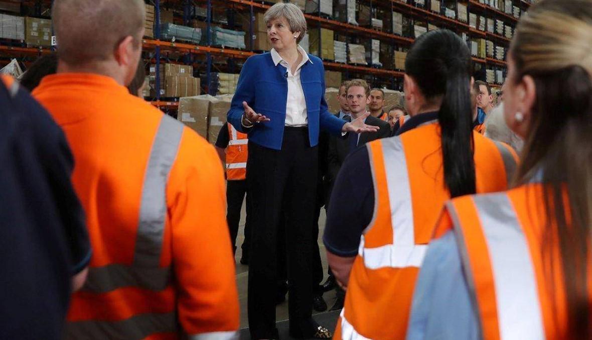 """""""تعالوا انضموا إلي""""... ماي تطلب من الناخبين البريطانيين تفويضا واضحا لادارة """"بريكست"""""""