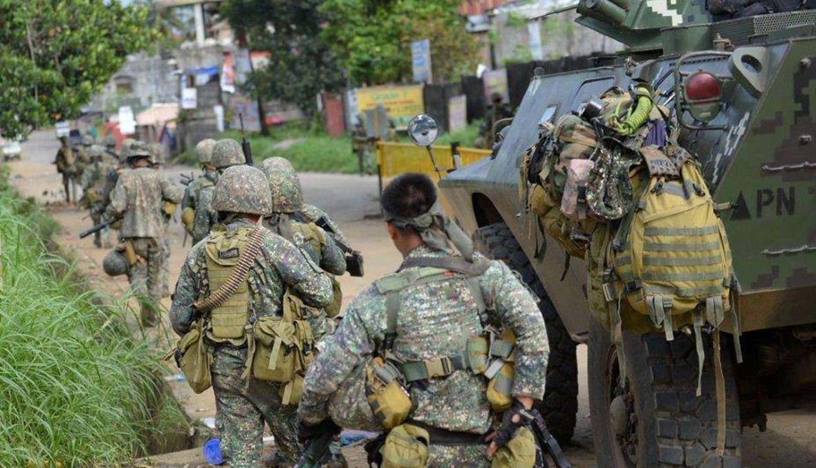 2000 مدني عالقون في مرواي... الجيش الفيليبيني يكثف حملته ضد المسلحين الاسلاميين