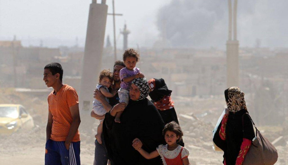 """غرب الموصل: """"داعش"""" يقتل 230 مدنيا خلال محاولتهم الفرار"""