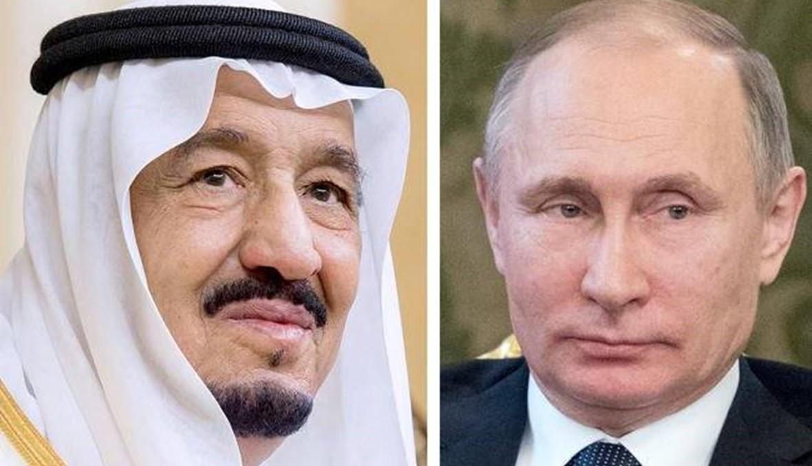 اتصال بين بوتين والملك سلمان... الكرملين يحذر من تأثير الازمة القطرية على سوريا