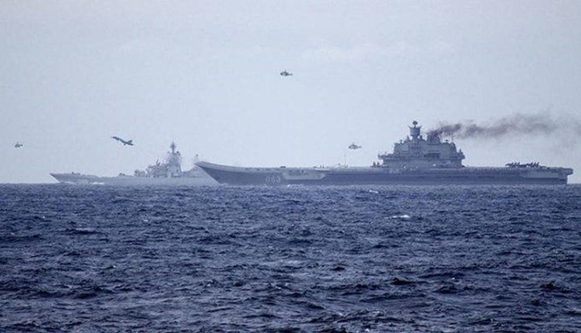 """صواريخ روسية مجنحة من البحر المتوسط على مواقع """"داعش"""" في سوريا"""