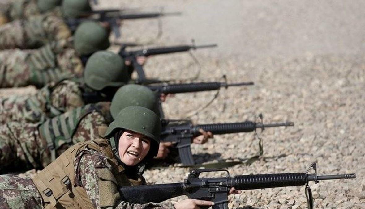 """لمحاربة """"داعش"""" و""""طالبان""""... نساء أفغانستان يتدرّبن على القتال"""