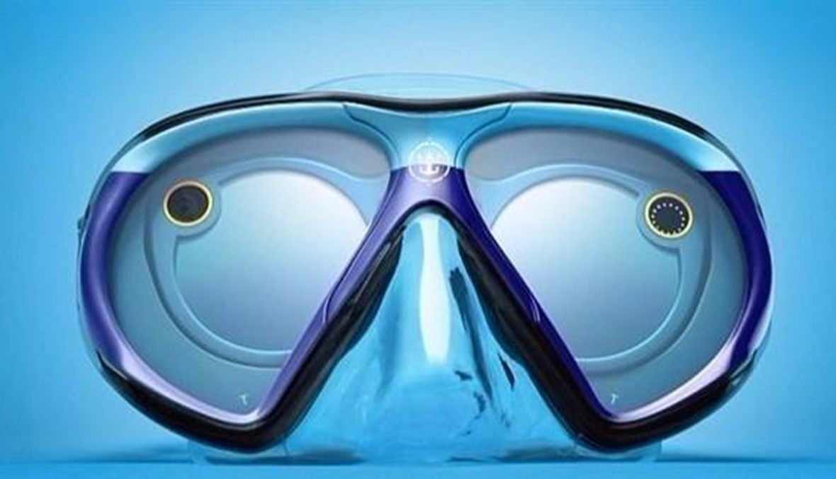 نظارة سناب شات الجديدة يمكن الغوص بها 30 دقيقة