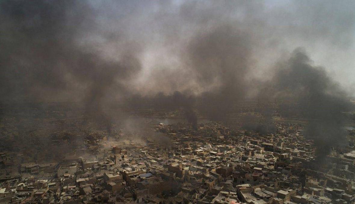 """""""داعش"""" يصعّد هجماته الانتحاريّة غرب الموصل... """"القتال يزداد صعوبة يومًا بعد يوم"""""""