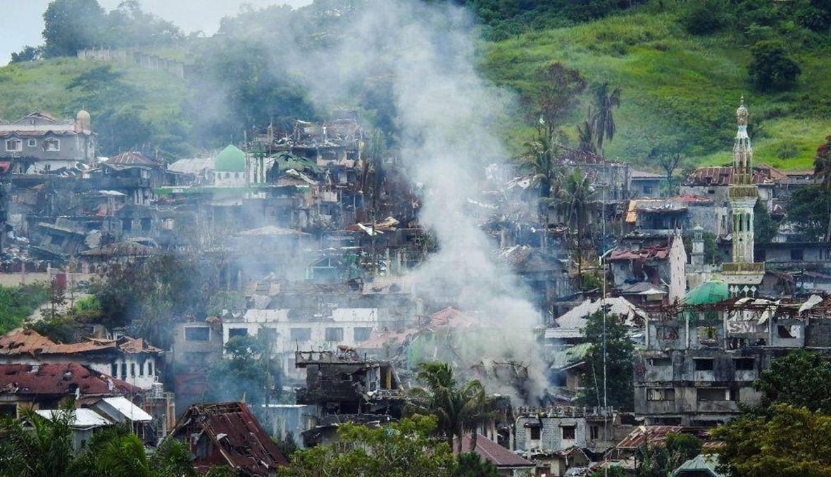 مرواي: الجهاديّون يسيطرون على 1500 مبنى... هابيلون يتحصّن في مسجد