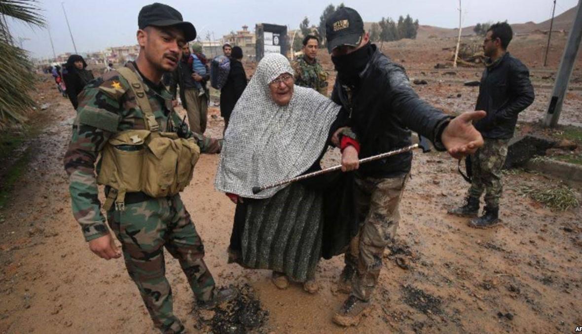 """20 ألف مدنيّ عالقون في الموصل القديمة... """"حالتهم يُرثى لها"""""""