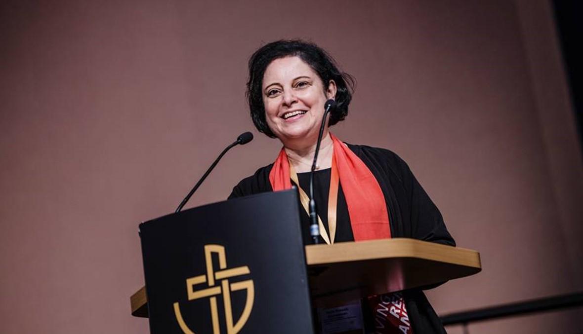 امرأة من لبنان تخطبُ على منبر لوثر... القسّيسة نجلا قصّاب رئيسةً لـشركة الكنائس المُصلَحة