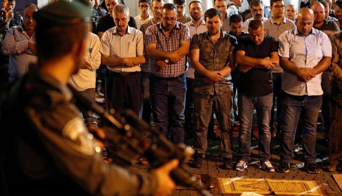 اسرائيل ترسل تعزيزات أمنيّة الى الأقصى... الفلسطينيّون يرفضون دخوله لليوم الخامس