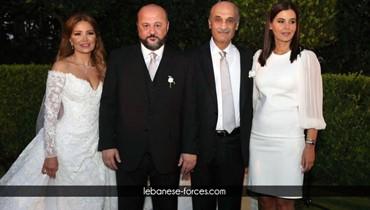 في زفاف ملحم الرياشي... البساطة والجمال مع ستريدا جعجع