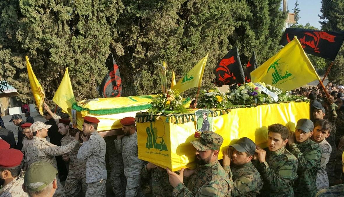 """تشييع عنصرين لـ""""حزب الله"""" في بعلبك"""