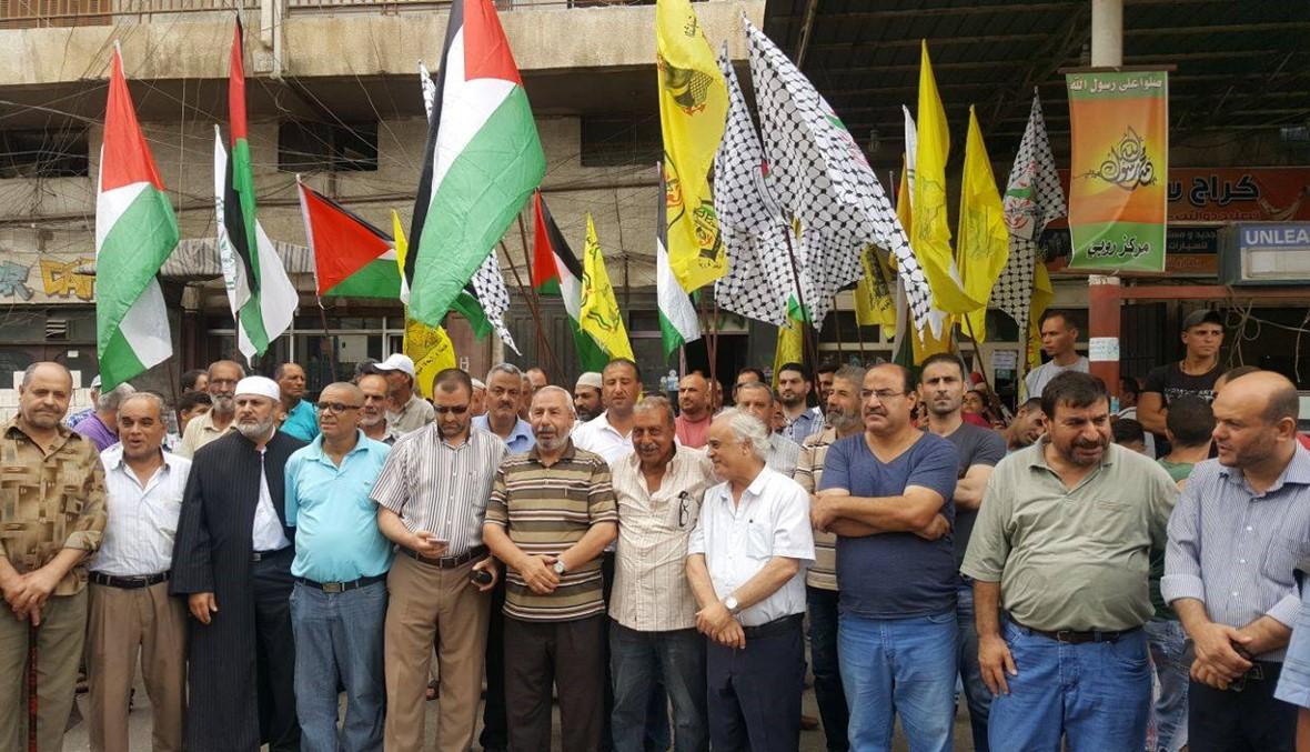 وقفة تضامنية في مخيم البداوي مع أهالي القدس