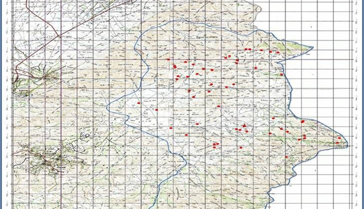 """بالصور والخرائط: مراكز محصنة داخل الكهوف...""""فجر الجرود"""" تكشف أسلحة """"داعش"""" ونقاط قوته وأوكاره"""