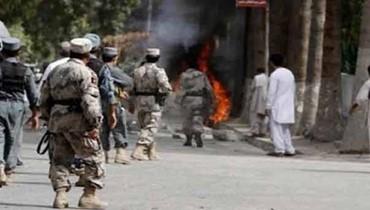 13 قتيلا على الاقل بتفجير انتحاري لطالبان في جنوب افغانستان