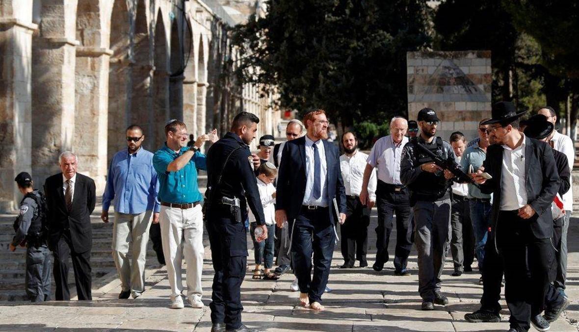 """نوّاب في الكنيست زاروا الأقصى... الأردن يندّد بقرار إسرائيليّ """"غير مسؤول"""""""