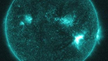 إنفجاران شمسيّان قويّان... الإتّصالات الراديويّة تعطّلت
