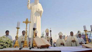 الراعي احتفل بعيد الصليب في فاريا: نتطلع إلى رجالات دولة لإجراء الانتخابات
