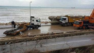 إحذروا طريق الكرنتينا البحرية غداً