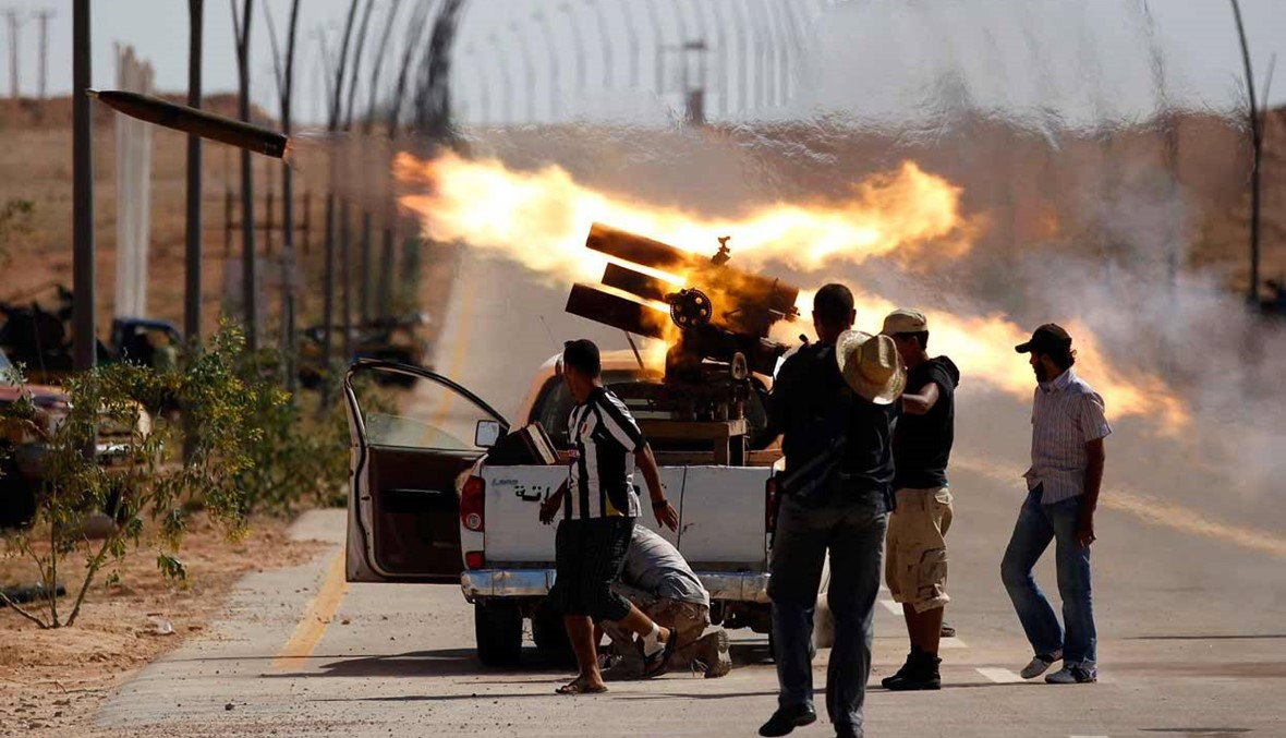 ستة قتلى على الاقل في معارك غرب ليبيا