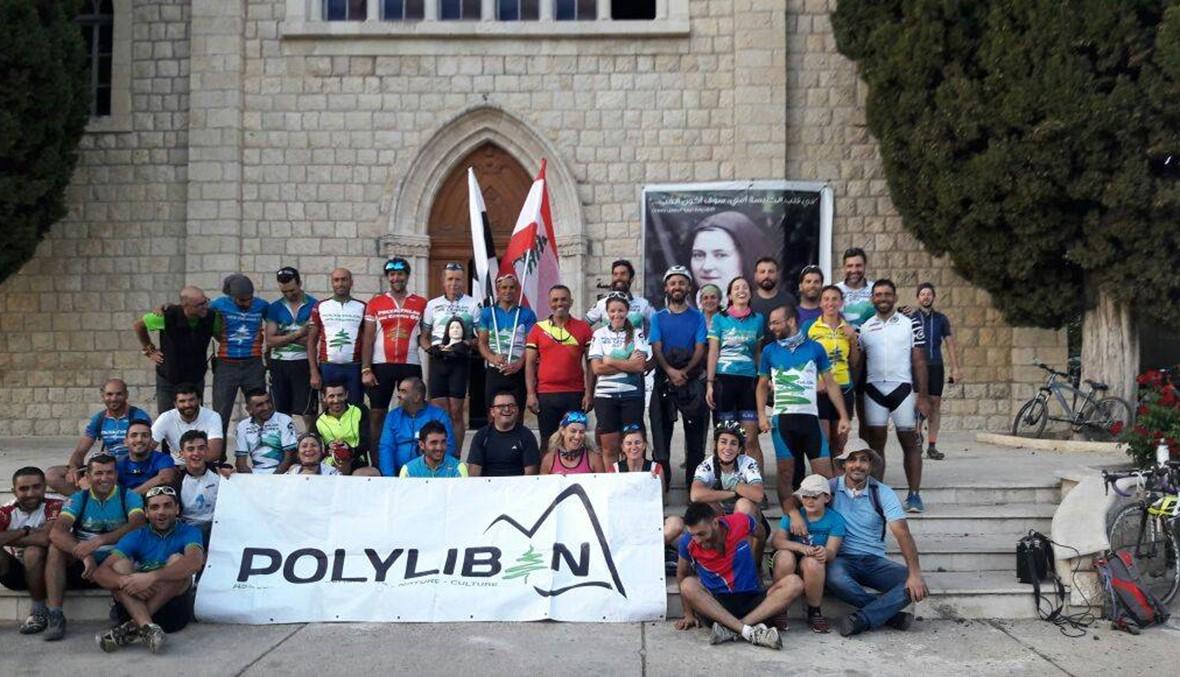 """""""بولي أتلون الأرز""""... نشاط على الدراجات الهوائية في عكار"""