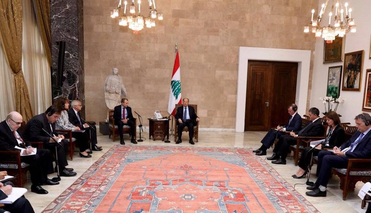 الرئيس عون يوضح موقف لبنان من قضية اللاجئين