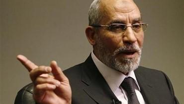 المرشد العام للاخوان المسلمين: الانقلاب العسكري ضد مرسي تم بمؤامرة داخلية وخارجية\r\n