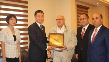 السفير الصيني التقى فاعليات ورجال أعمال في صيدا