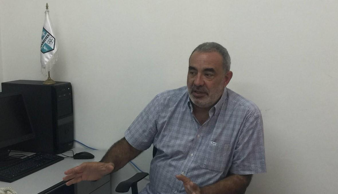 رئيس نادي الشانفيل اكرم صفا: لن ارضى اقل من اللقب