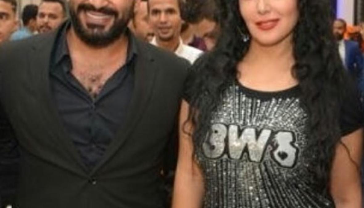 زواج احمد سعد وسمية الخشاب غداً؟