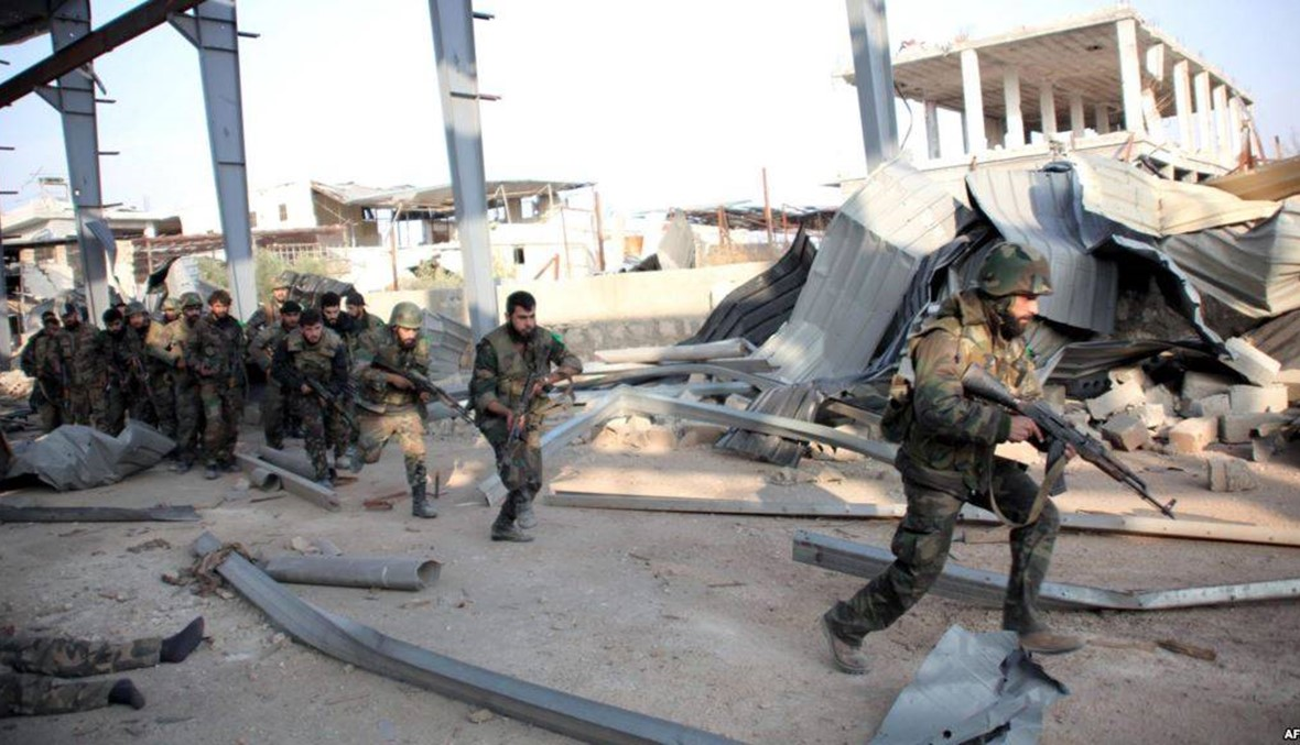 """الجيش السوريّ ينتزع موقعاً من """"داعش"""" تمهيداً لهجوم على آخر معاقله"""