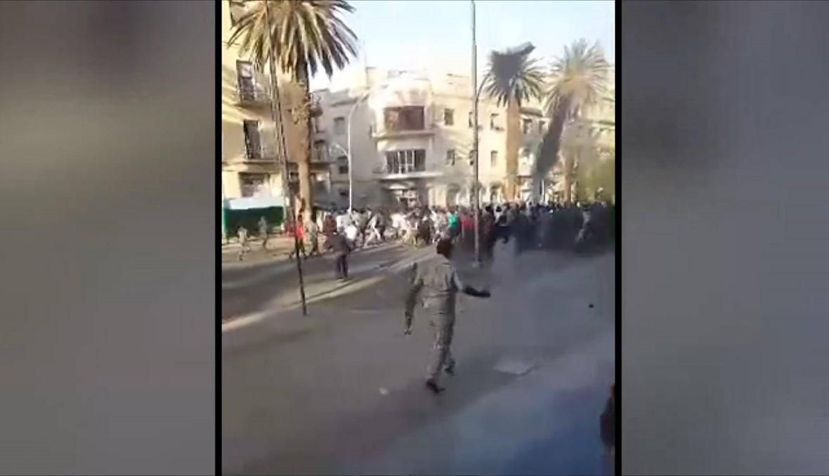 تظاهرات واطلاق نار في شوارع العاصمة الاريترية... أشخاص هربوا راكضين
