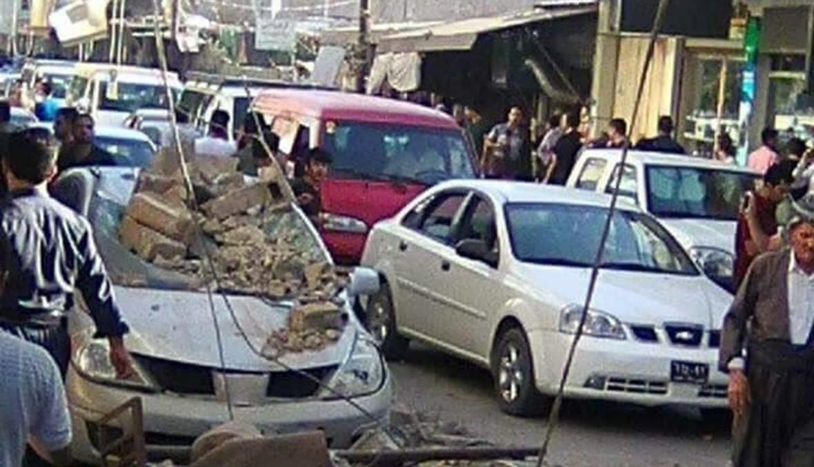 """زلزال """"قوي"""" يضرب العراق، ويهزّ الكويت والسعودية وإيران... قتلى وعشرات الجرحى (فيديو)"""