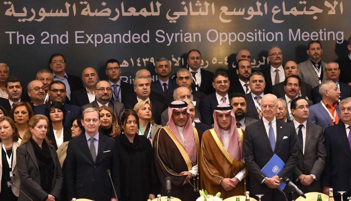 قوى المعارضة السورية تتفق على ارسال وفد موحد الى جنيف