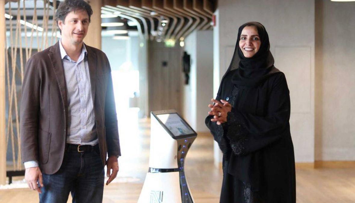 بعد الروبوت صوفيا.. تعرفوا إلى الروبوت فرح الإماراتية!