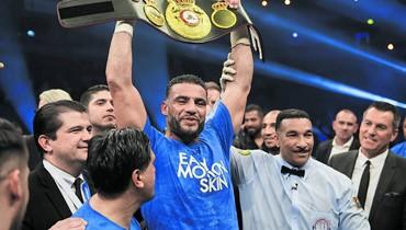 لبناني يعيد ألمانيا إلى سجلات الملاكمة العالمية