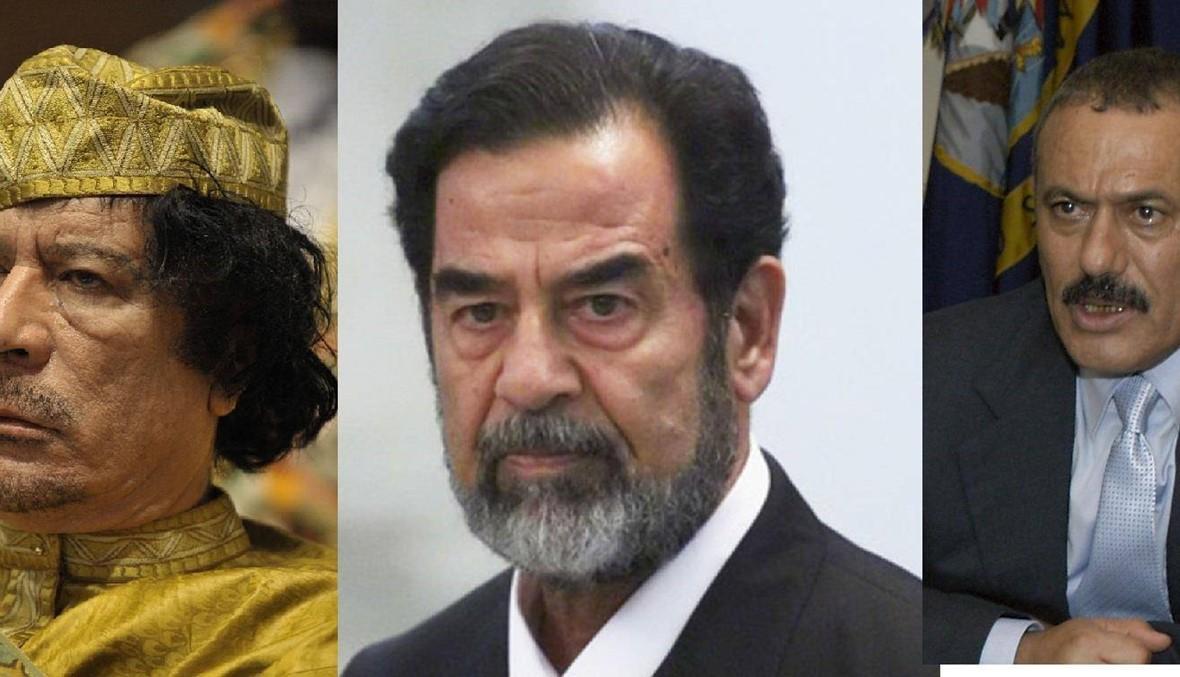 علي عبدالله صالح ثالث رئيس عربي يُعدم بعد صدام والقذافي