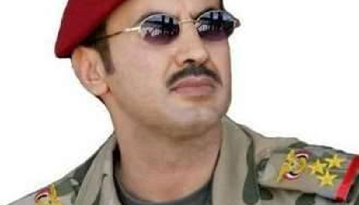 أحمد علي عبد الله صالح: دماء والدي ستكون جحيما يرتد على أذناب ايران