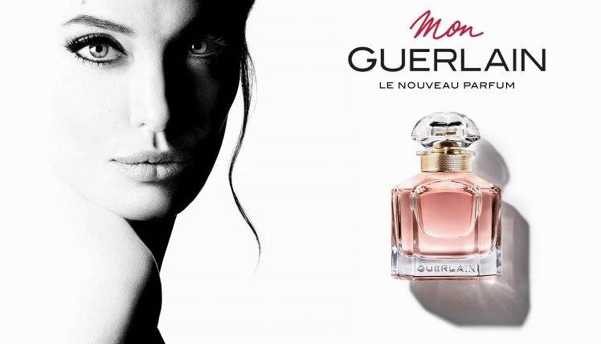 أنجيلينا جولي تطلق عطر Mon Guerlain