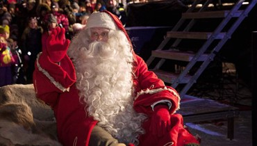 """""""سانتا كلوس الحقيقي"""" في فنلندا يستقبل 300 ألف سائح"""