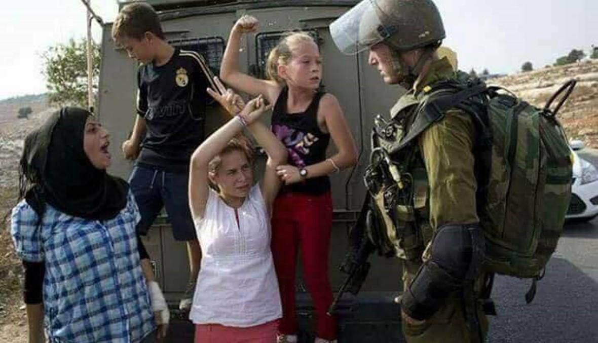 """عهد التميمي لا تخشى الموت... """"طريق تحرير فلسطين بحاجة إلى الدم"""""""
